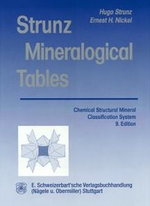 Strunz Mineralogical Tables | Dodax.ch