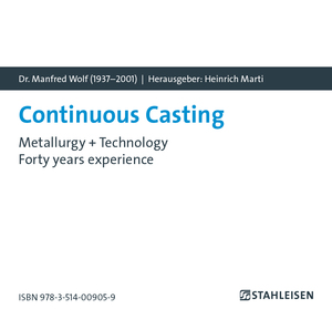 Continuous Casting. Dr. Manfred Wolf (1937-2001), CD-ROM | Dodax.ch