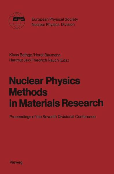 Nuclear Physics Methods in Materials Research | Dodax.at