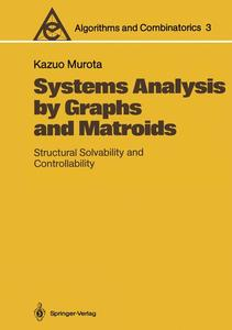 Systems Analysis by Graphs and Matroids   Dodax.pl