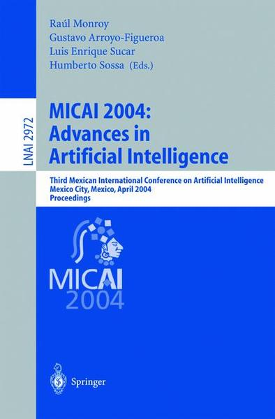 MICAI 2004: Advances in Artificial Intelligence | Dodax.ch