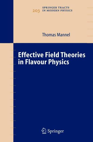 Effective Field Theories in Flavour Physics | Dodax.at