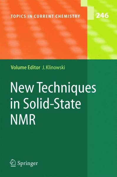 New Techniques in Solid-State NMR | Dodax.ch