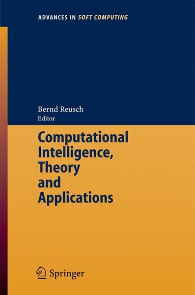 Computational Intelligence, Theory and Applications | Dodax.ch