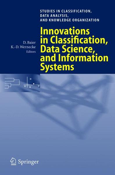 Innovations in Classification, Data Science, and Information Systems | Dodax.ch