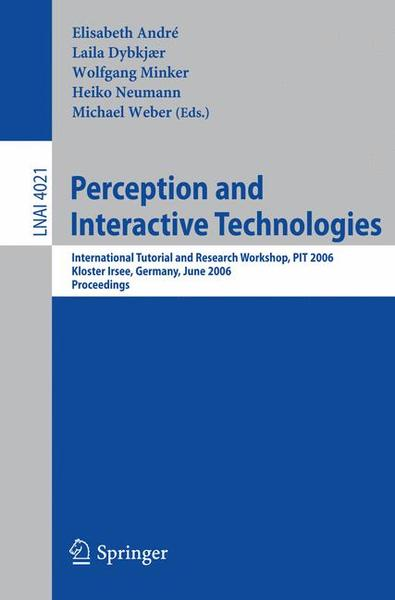 Perception and Interactive Technologies | Dodax.ch