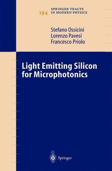 Light Emitting Silicon for Microphotonics | Dodax.ch