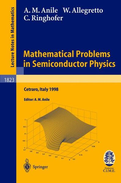 Mathematical Problems in Semiconductor Physics | Dodax.ch
