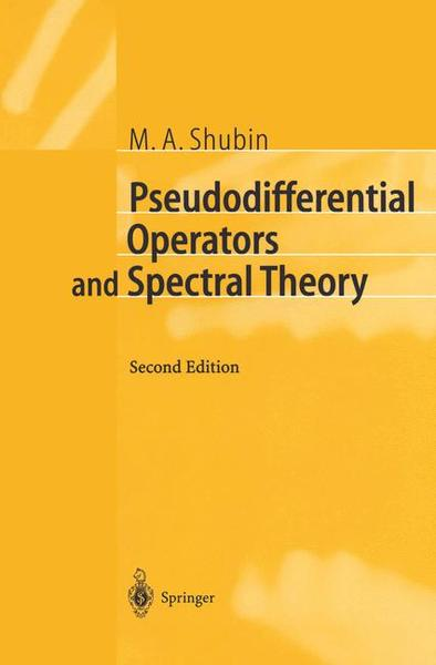Pseudodifferential Operators and Spectral Theory | Dodax.ch