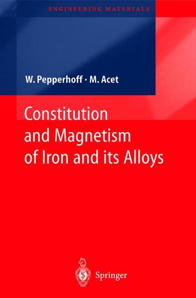 Constitution and Magnetism of Iron and its Alloys | Dodax.ch