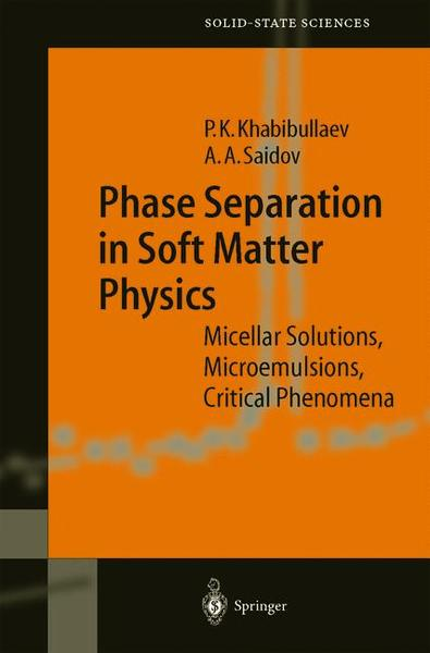 Phase Separation in Soft Matter Physics   Dodax.ch