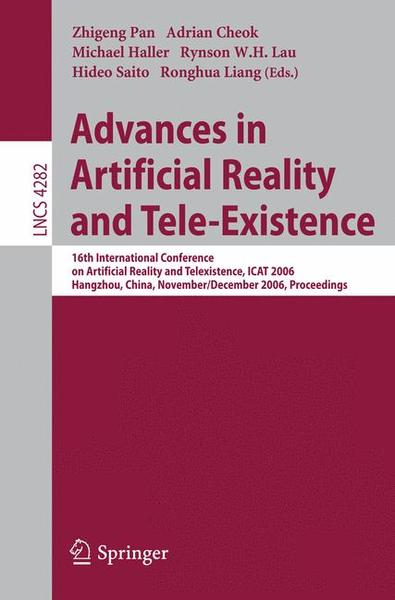 Advances in Artificial Reality and Tele-Existence | Dodax.de