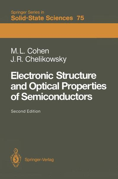 Electronic Structure and Optical Properties of Semiconductors | Dodax.ch