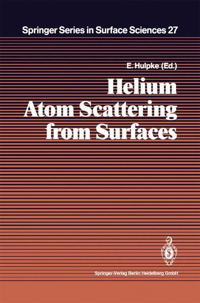 Helium Atom Scattering from Surfaces   Dodax.ch