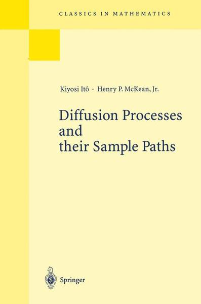 Diffusion Processes and their Sample Paths | Dodax.ch