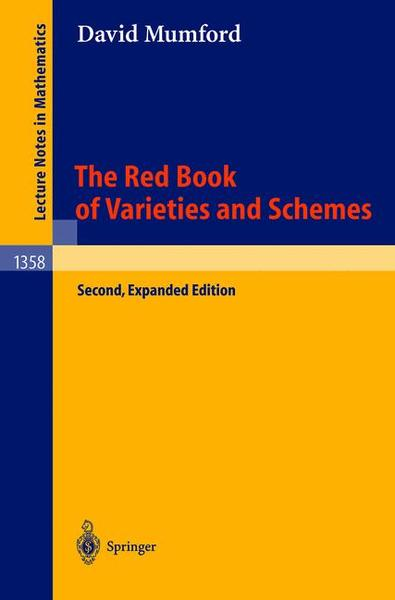 The Red Book of Varieties and Schemes | Dodax.at