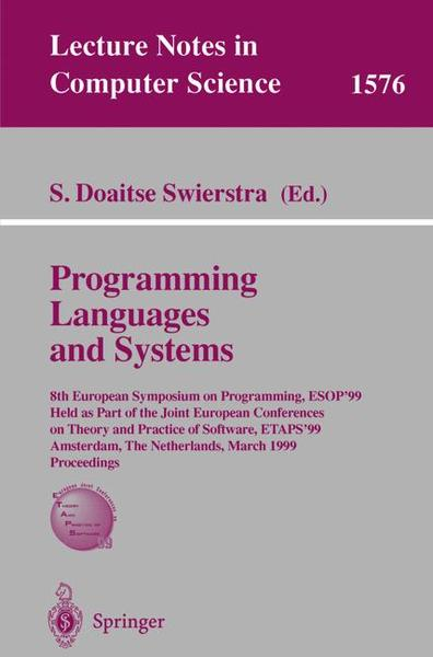 Programming Languages and Systems | Dodax.ch