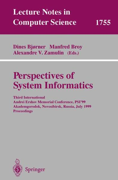 Perspectives of System Informatics | Dodax.ch
