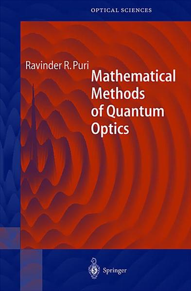Mathematical Methods of Quantum Optics | Dodax.de