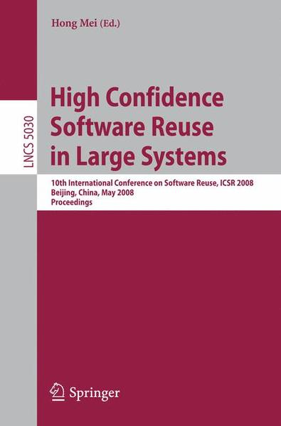 High Confidence Software Reuse in Large Systems   Dodax.ch