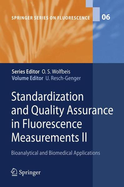 Standardization and Quality Assurance in Fluorescence Measurements II | Dodax.ch
