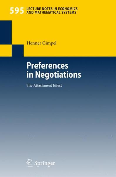 Preferences in Negotiations | Dodax.ch