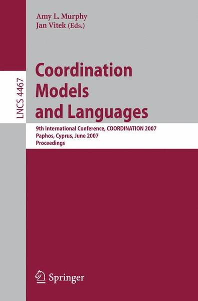 Coordination Models and Languages | Dodax.ch