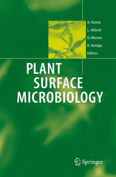 Plant Surface Microbiology   Dodax.ch