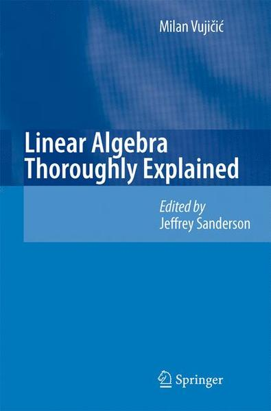 Linear Algebra Thoroughly Explained | Dodax.ch