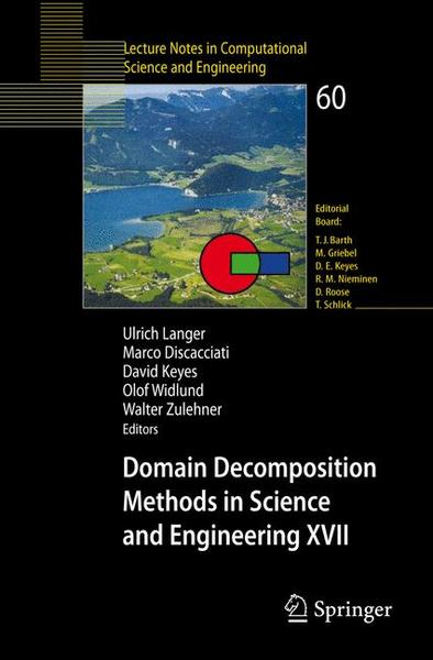 Domain Decomposition Methods in Science and Engineering XVII | Dodax.ch