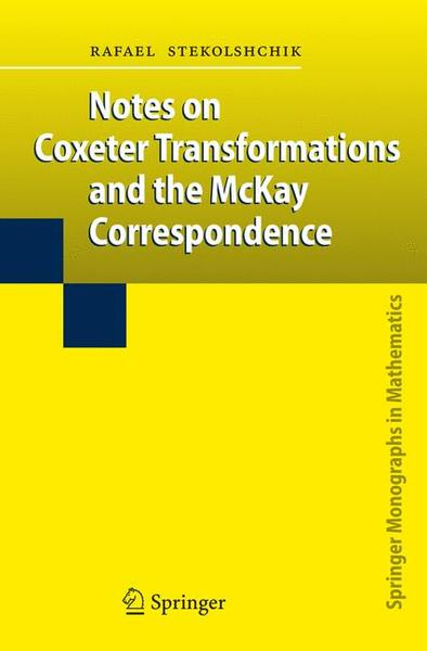 Notes on Coxeter Transformations and the McKay Correspondence | Dodax.ch