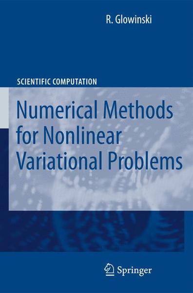 Lectures on Numerical Methods for Non-Linear Variational Problems | Dodax.ch