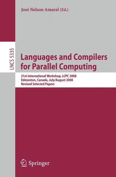 Languages and Compilers for Parallel Computing | Dodax.ch