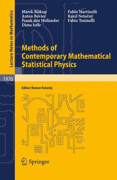 Methods of Contemporary Mathematical Statistical Physics | Dodax.ch