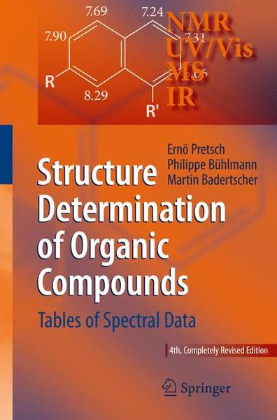 Structure Determination of Organic Compounds | Dodax.ch
