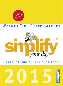 simplify your day, Tagesabreißkalender 2015 | Dodax.ch