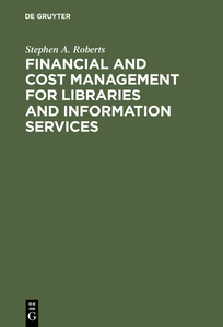 Financial and Cost Management for Libraries and Information Services | Dodax.ch