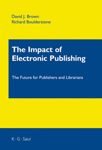 The Impact of Electronic Publishing | Dodax.ch