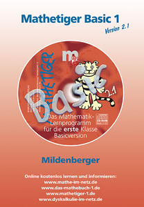 Mathetiger Basic 1, Version 2.1, CD-ROM | Dodax.at