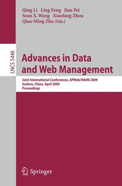 Advances in Data and Web Management | Dodax.ch