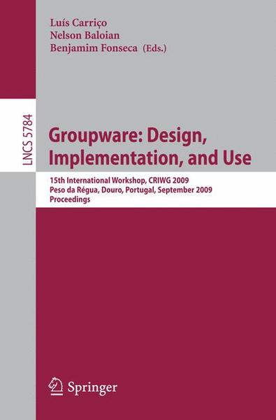 Groupware: Design, Implementation, and Use | Dodax.ch