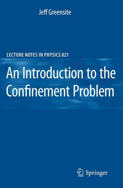An Introduction to the Confinement Problem | Dodax.ch