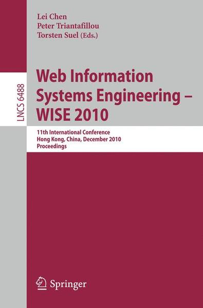 Web Information Systems Engineering - WISE 2010 | Dodax.ch