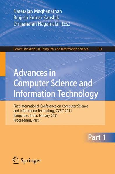 Advances in Computer Science and Information Technology | Dodax.ch