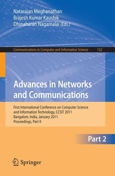Advances in Networks and Communications | Dodax.ch