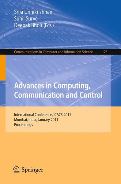 Advances in Computing, Communication and Control | Dodax.ch