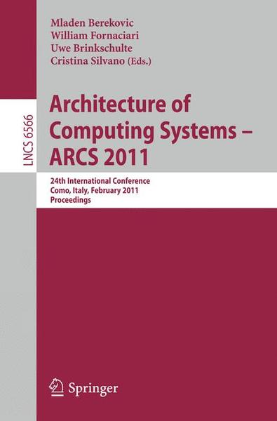 Architecture of Computing Systems - ARCS 2011 | Dodax.ch