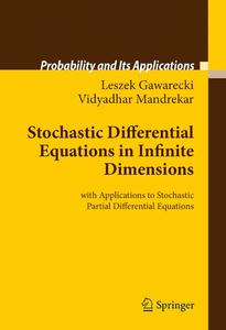 Stochastic Differential Equations in Infinite Dimensions | Dodax.at