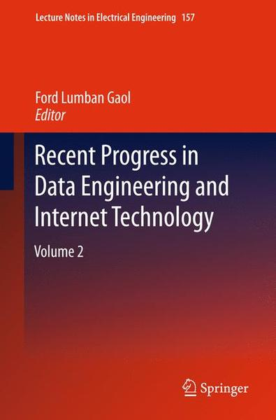 Recent Progress in Data Engineering and Internet Technology. Vol.2 | Dodax.ch