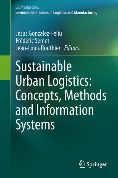 Sustainable Urban Logistics: Concepts, Methods and Information Systems | Dodax.ch